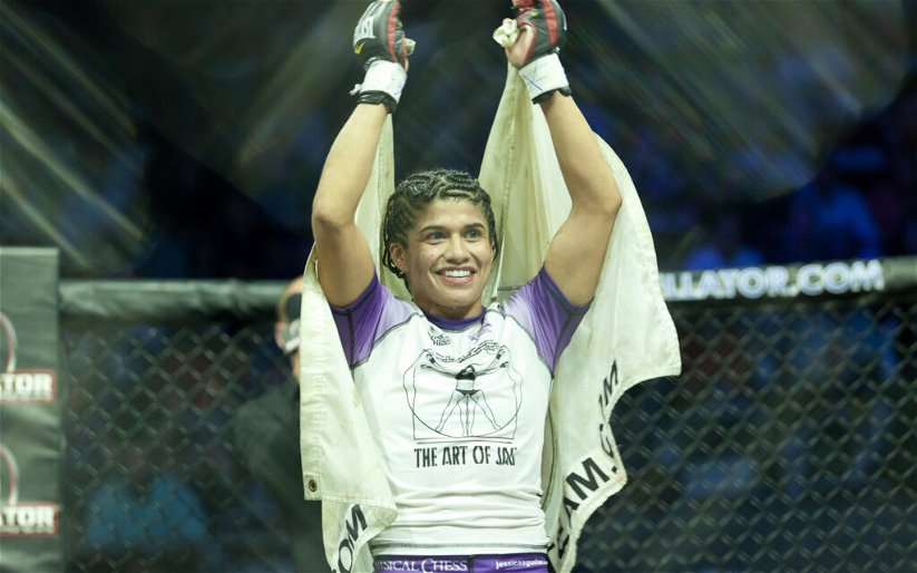 Image for World Series of Fighting releases women's champ Jessica Aguilar