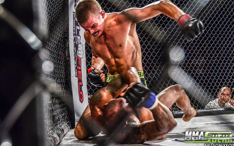 """Image for Eye of the Storm MMA Podcast Ep. 43 – Jeremy """"JBC"""" Kennedy"""