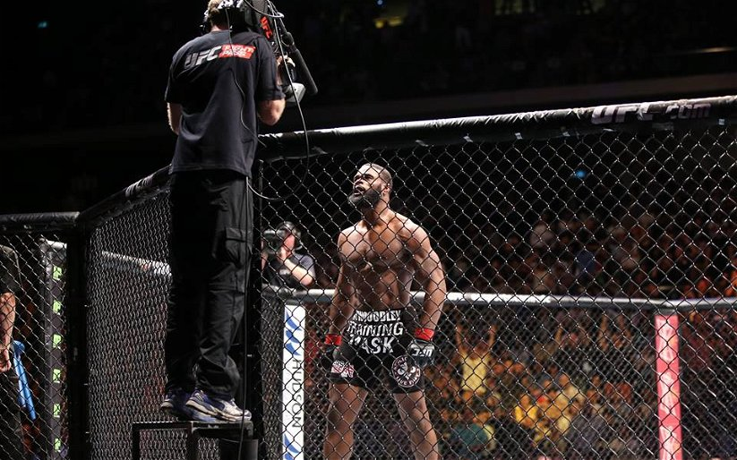 Image for Tyron Woodley: CM Punk's awesome