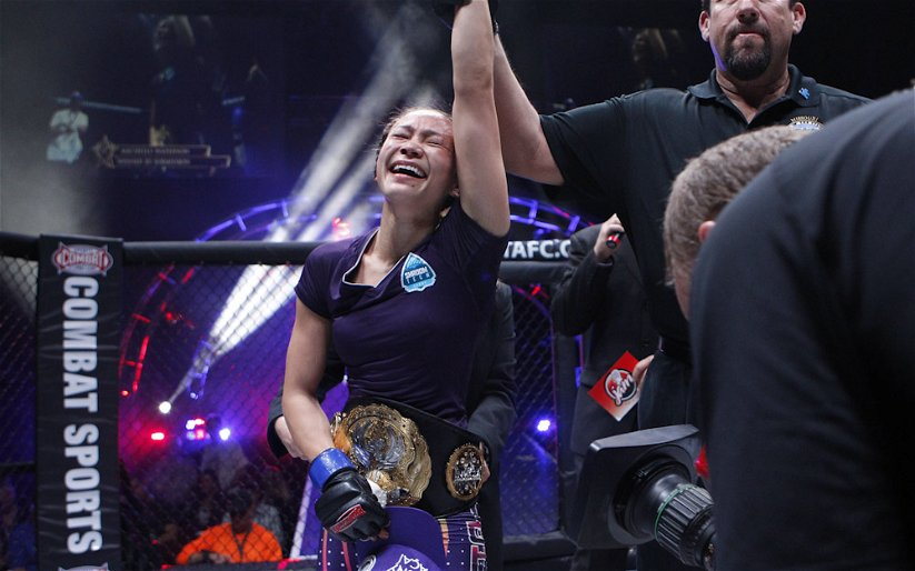 Image for With year and a half layoff, Michelle Waterson had no time to slack