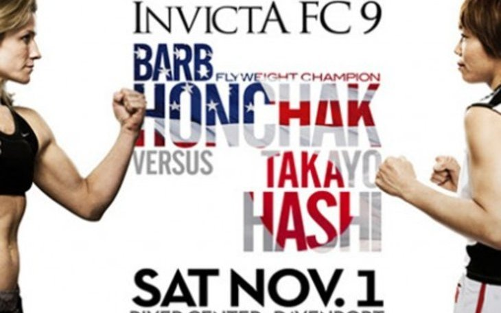 Image for Watch the Invicta FC 9 weigh-ins live on MMASucka.com at 2pm PT/5pm ET