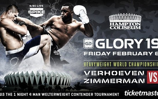 Image for Glory 19 Live Results and Reactions