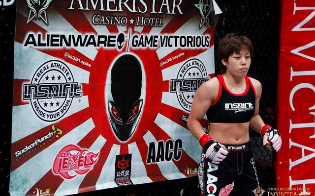 Image for Japanese Champ Ayaka Hamasaki to defend her belt in Invicta FC 16