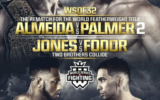 Image for WSOF 32 Main Card Complete with Shamil Gamzatov vs. Louis Taylor