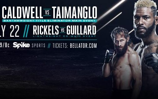 Image for 'Bellator 159: Caldwell vs. Taimanglo' Live Results
