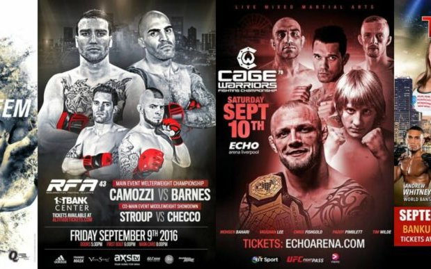 Image for MMA This Weekend (September 9 – 11)