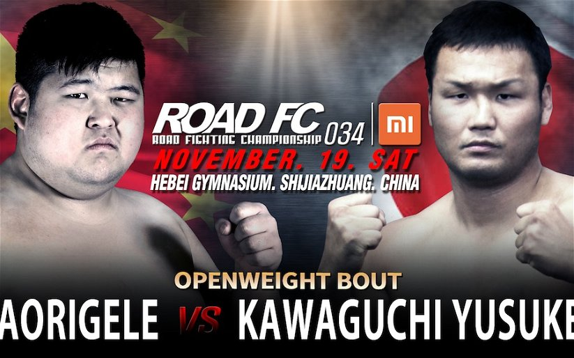 Image for Xiaomi ROAD FC 34 announced for November 19th in China