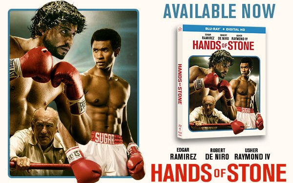 Image for Win a copy of Hands of Stone on Blu-Ray