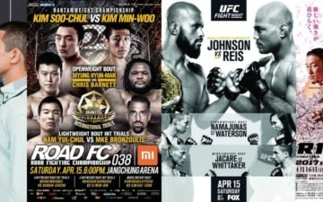 Image for MMA This Weekend (April 14 – 16)