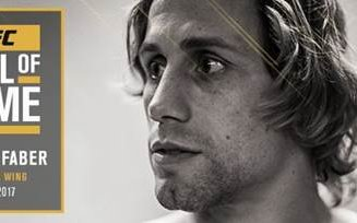 Image for Urijah Faber first inductee to 2017 UFC Hall of Fame