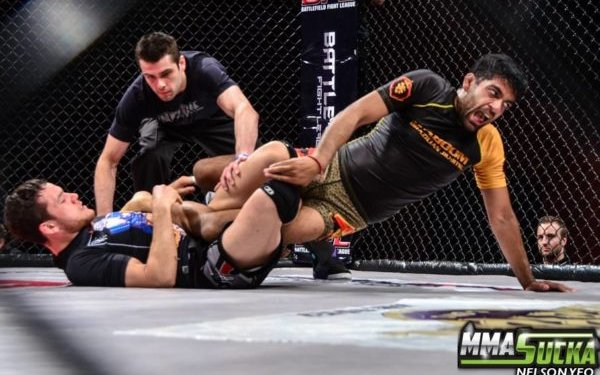 Image for Chokes by the Ocean stacked; includes Oliver Taza vs. Matt Kwan
