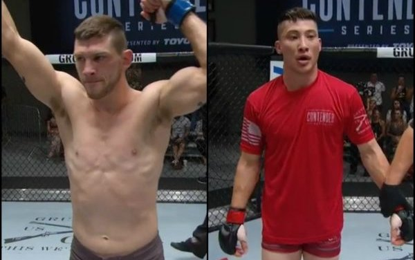 Image for Kurt Holobaugh, Boston Salmon earn UFC contracts following Contender Series 1 wins