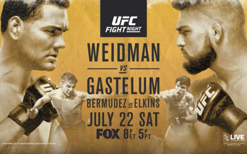 Image for UFC on FOX 25 Live Results