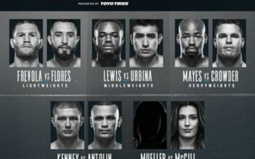 Image for Tuesday Night Contender Series 8 – Live Results