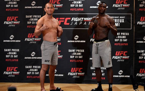 Image for UFC Fight Night: Saint Preux vs. Okami Live Results