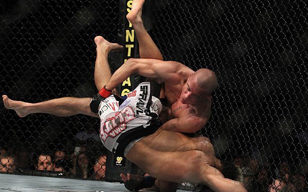 Image for The wrestling, takedowns, and setups of GSP