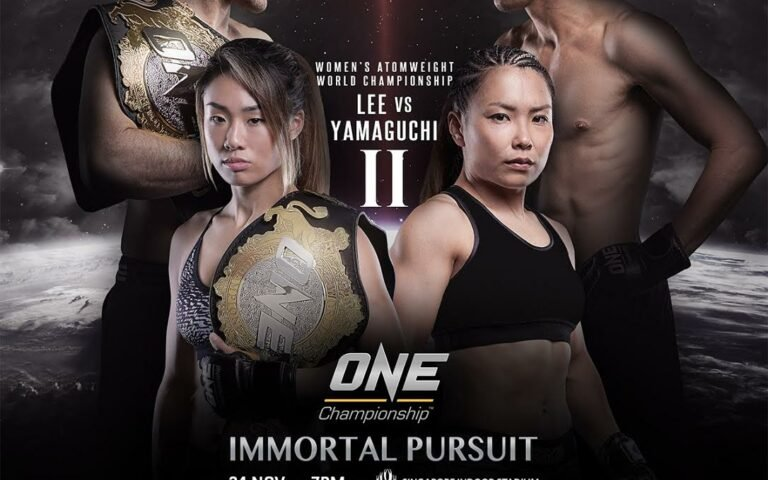 Image for ONE: Immortal Pursuit fight card announced