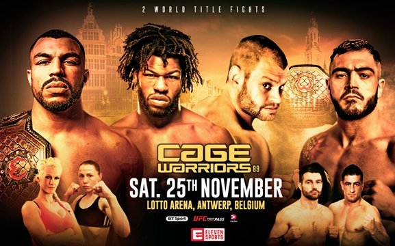 Image for Cage Warriors 89 Preview and News