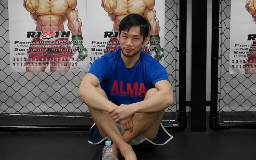 """Image for Shintaro Ishiwatari putting everything on the line in RIZIN Grand-Prix, just """"hopes to be alive"""" on New Year's Day"""
