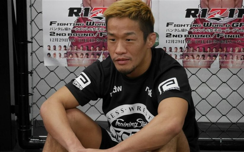 """Image for Takafumi Otsuka talks training with mostly kickboxers ahead of quarter-final bout against """"monster"""" Khalid Taha"""