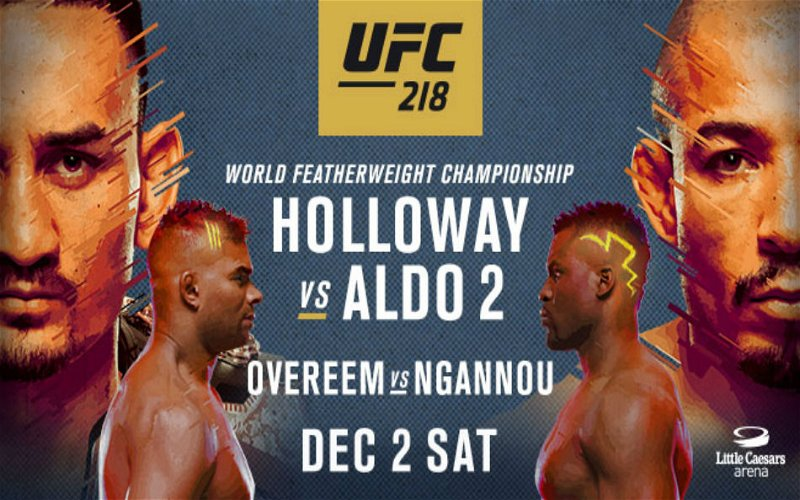 Image for UFC 218 Results