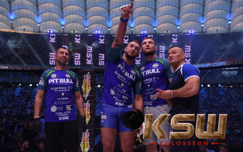 Image for Michal Andryszak, Phil De Fries to meet for vacant heavyweight title at KSW 43