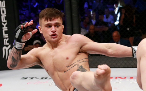 Image for TJ Laramie Wants to Prove he's the Best Featherweight Prospect in the World