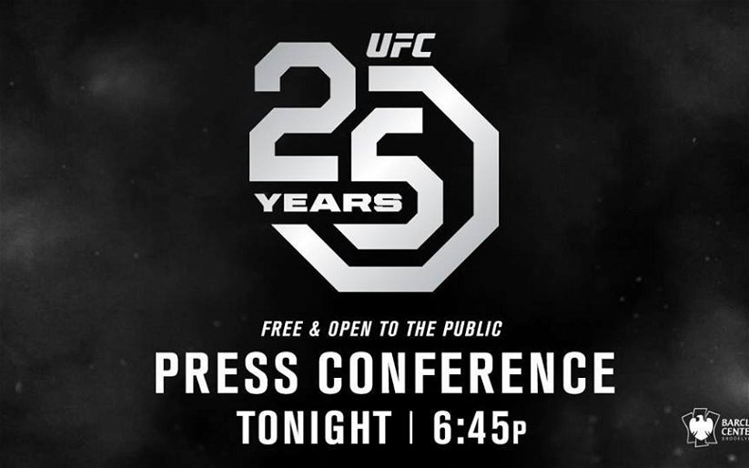 Image for UFC 25th Anniversary Press Conference