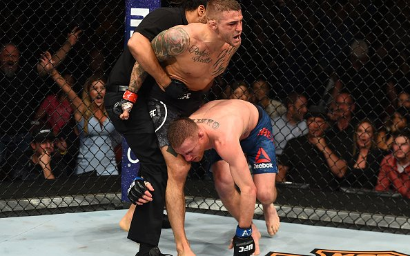 """Image for Justin Gaethje """"Content"""" With Performance Despite Knockout Loss"""