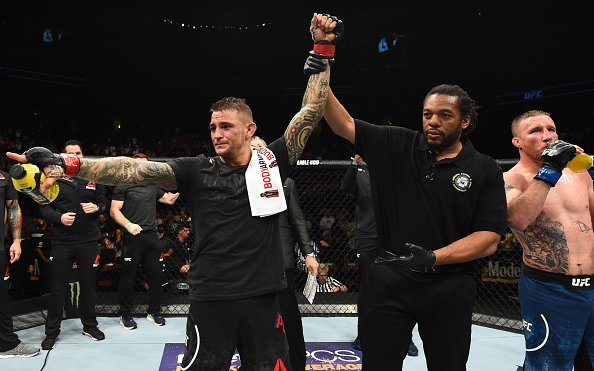 Image for Dustin Poirier Happy With Performance but has Plenty to Work On