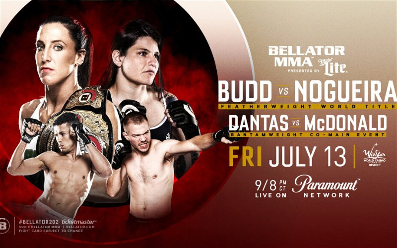 Image for Julia Budd defends featherweight title against Talita Nogueira at Bellator 202
