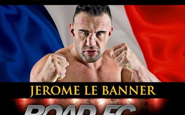 Image for ROAD FC's Openweight Grand-Prix line-up complete with the addition of kickboxing legend; Jerome Le Banner