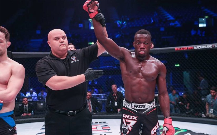 Image for Mike Ekundayo vs. Ed Arthur Official for Cage Warriors 95