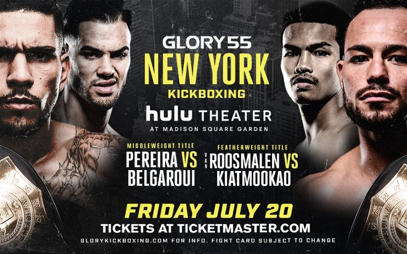 Image for Alex Pereira and Robin van Roosmalen defend titles at GLORY 55