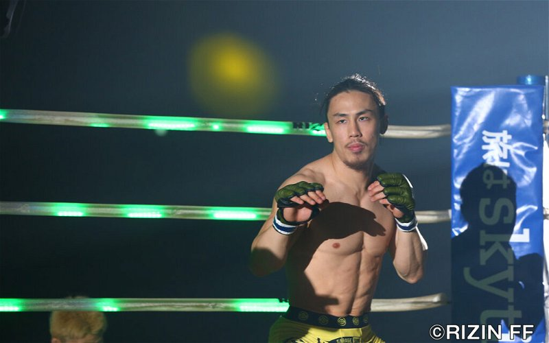 Image for Yusuke Yachi in need of new opponent for RIZIN 12