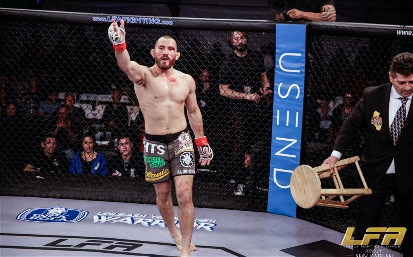 """Image for LFA's Christian Aguilera on Matthew Frincu Fight: """"Someone's Going to Get Finished"""""""
