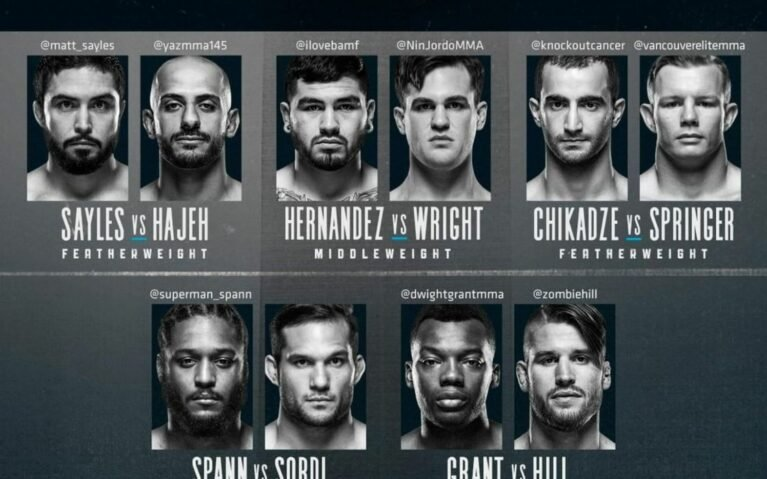 Image for Contender Series Week 2 – Results
