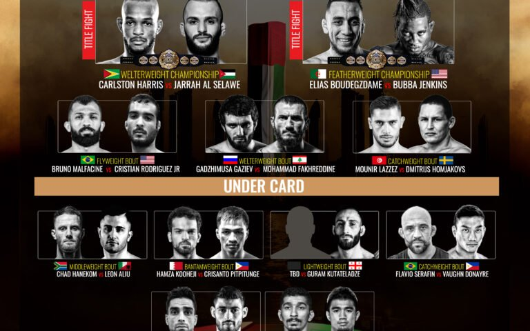 Image for Brave 16 full card announced, two title fights and a stellar undercard