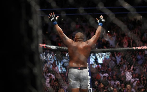Image for MMASucka's Knockout of the Month for July 2018: Daniel Cormier becomes double champ with a shocking first-round KO