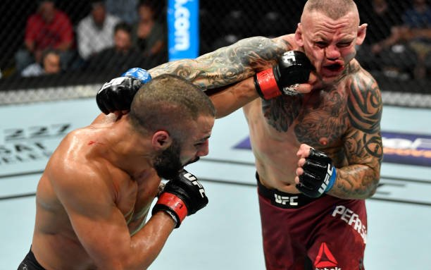 Image for MMASucka's Fight of the Month for July 2018: John Makdessi and Ross Pearson go to war in Calgary