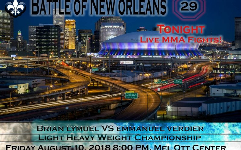 Image for Battle of New Orleans MMA #29 Full Review