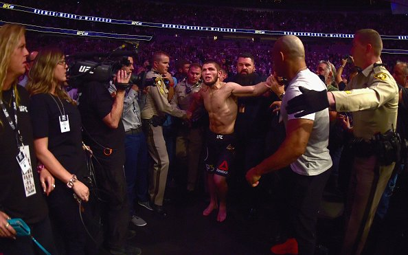 Image for Opinion: Nurmagomedov's moment ends in failure at UFC 229