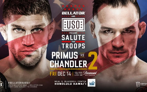 Image for Michael Chandler gets title rematch vs. Brent Primus at special 'Salute the Troops' show in Hawaii