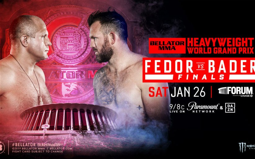 Image for Fedor Emelianenko and Ryan Bader fight for heavyweight gold at The Forum in January