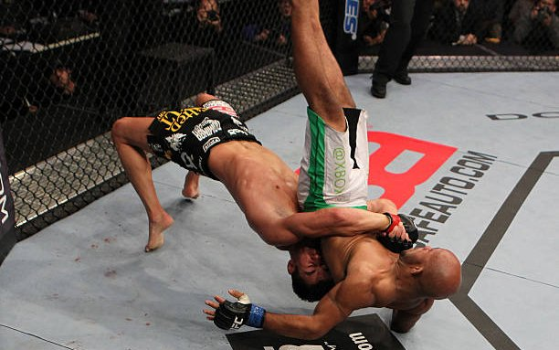 Image for Dominick Cruz Wrestling GIFs and Analysis (UFC)