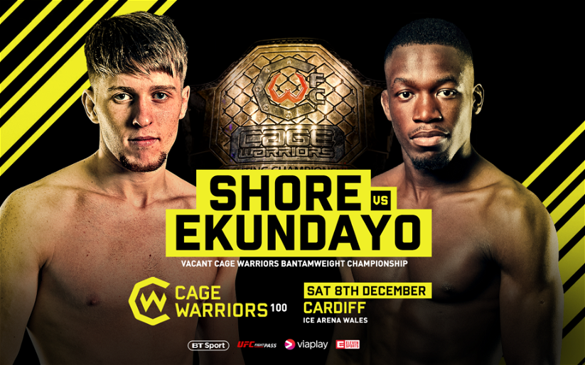 Image for Mike Ekundayo vs. Jack Shore Official for Cage Warriors 100