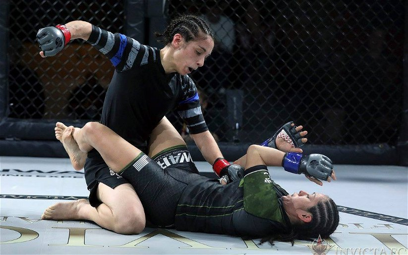 """Image for Ashley Cummins Feels """"Stars Have Aligned"""" to Capture Invicta FC Atomweight Belt"""