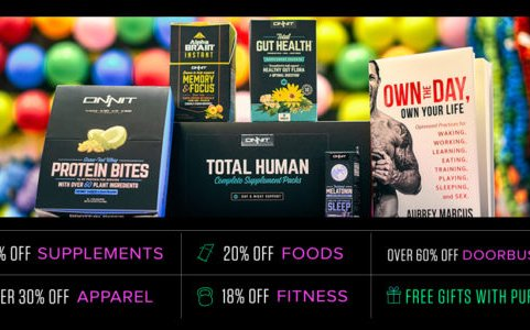 Image for Massive Black Friday and Cyber Monday Sale at Onnit