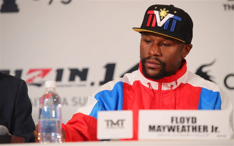 Image for Floyd Mayweather claims he did not agree to fight Tenshin Nasukawa at RIZIN 14