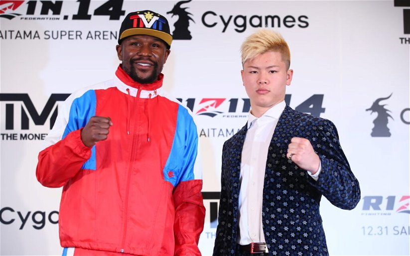 Image for RIZIN 14 tickets sell out in no time following Mayweather vs. Tenshin announcement